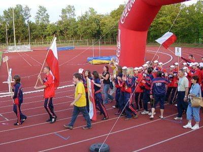 """Siatkarki UKS-u """"Volley"""" Bolesławiec w Wiedniu"""