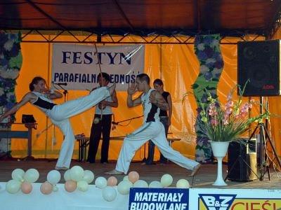 Pokaz capoeira
