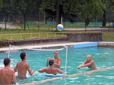 Mecz siatkówki wodnej