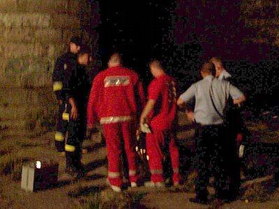 Strażacy, ratownicy pogotowia ratunkowego i policjanci