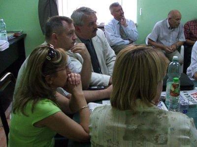Konferencja prasowa posła Grzegorza Schetyny