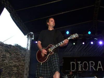 Gitarzysta Dioramy
