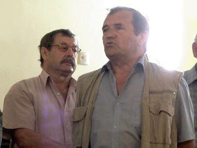 Ryszard Łoś i Alfred Janicki