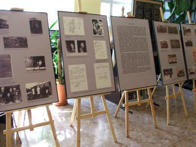Eksponaty wystawy