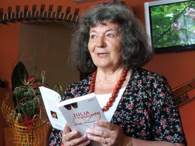 Maryla Hempowicz czyta fragment swojej powieści