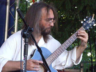Gitarzysta Kwartetu Jorgi