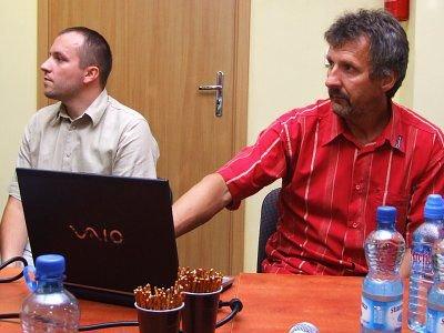 Damian Sawczak i Stefan Majewski