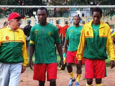 Piłkarze reprezentacji Kamerunu