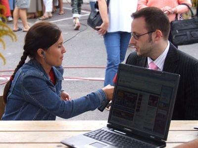 Magdalena Pawlinow i Krzysztof Gwizdała rozmawiają o portalu