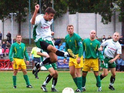 Krzysztof Szymański miał dwie dobre okazje do zdobycia bramek