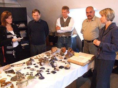 Konferencja poświęcona odkryciu archeologów