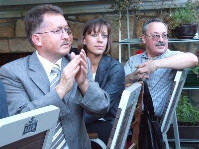 Uczestnicy spotkania wyborczego