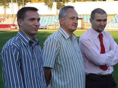 Tomasz Jasiński, Jan Woch i Bartosz Kubica