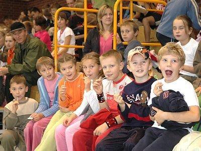 Dzieci na trybunach