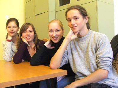 Aleksandra Idzik, Diana Filipowicz, Katarzyna Cieślak-Ostrowska i Kamil Pawłowski