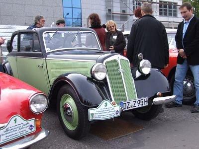 Auto Detlefa Kőllinga zajęło pierwsze miejsce w konkursie