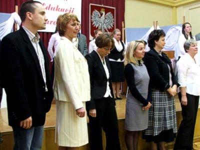 Nagrodzeni nauczyciele
