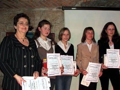 Od lewej: Barbara Pankowska, Paulina Szewczenko, Beata Cieśla, Justyna Orłowska i Adrianna Piasecka