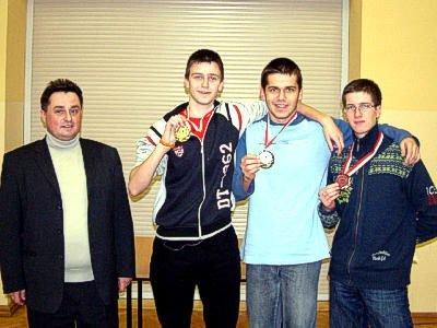 Jarosław Molenda i zwycięzcy turnieju