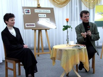 Halina Majewska i Mariusz Urbanek