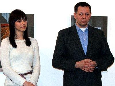 Katarzyna Maczel i Andrzej Olejniczak
