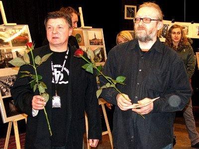 Od lewej: Leszek Żukrowski i Grzegorz Sidorowicz