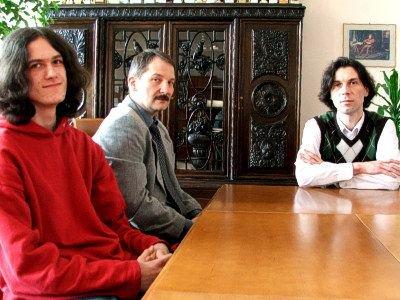 Od lewej: Robert Mróz, Andrzej Idzik i Cezary Czernatowicz