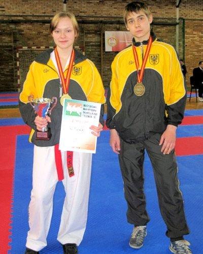 Kaja Burniak i Krystian Marzec