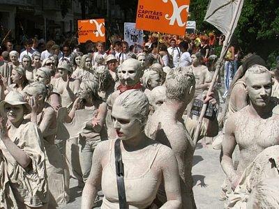 Ponad sto osób prezentowało Gliniadę berlińczykom i turystom