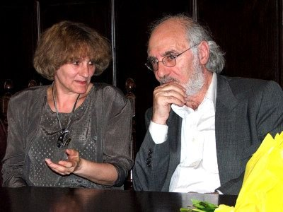 Tłumaczką podczas niedzielnego spotkania była pisarka Iwona Banach