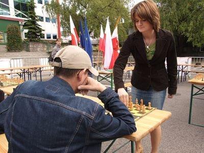 Monika Krupa pokonała w symultanie 9 zawodników