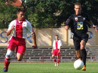 Kamil Mielnik zdobył dla BKS wyrównującego gola