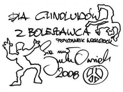 Pozdrowienia od Jurka Owsiaka dla Glinoludów