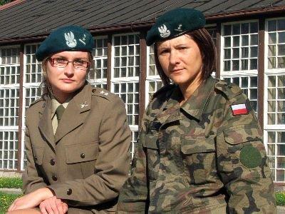 Od lewej: Anna Jarosz i Agnieszka Kozik