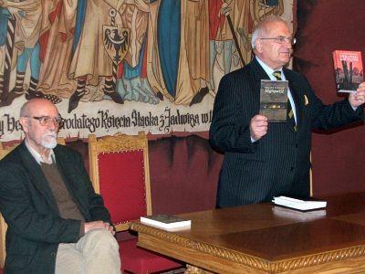 Od lewej: Stanisław Srokowski i Tadeusz Samborski