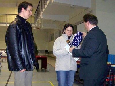 Od lewej: Mikołaj Taczewski, Joanna Krawczyk i Jarosław Molenda