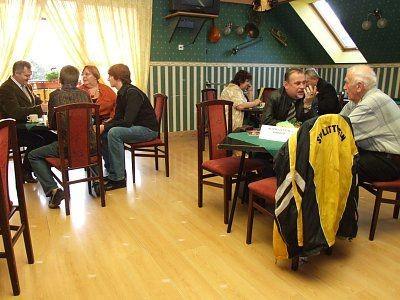 Spotkanie odbyło się w restauracji Liliput