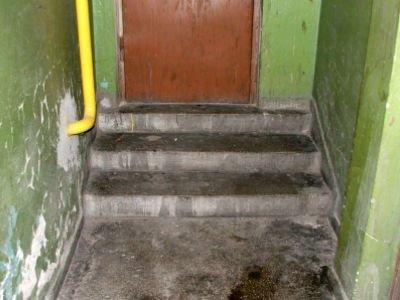 Tu bezdomni urządzili sobie toaletę