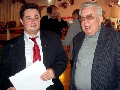 Po lewej: Jarosław Molenda