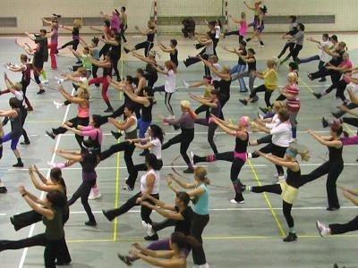 Ponad 70 kobiet ćwiczyło na sali sportowej I LO