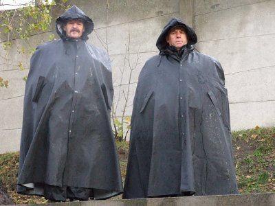 Najlepiej zabezpieczeni przed deszczem byli pracownicy ochrony