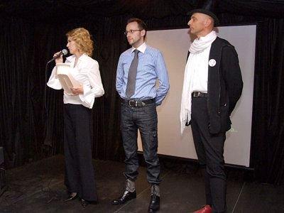 Aneta Opała, Krzysztof Gwizdała i Bogusław Nowak prowadzili całe spotkanie. Krzysztof Gwizdała poinformował, że wszystkie zdjęcia z Gliniady obejrzano ponad 270 tys. razy