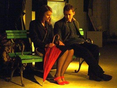 """Spektakl """"Pierwsza Miłość"""" opowiadał o uczuciu łączącym kloszarda i prostytutkę"""