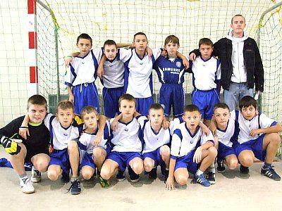 Młodzi piłkarze z Chojnowa