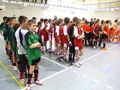 W turnieju wzięło udział ponad 50 młodych piłkarzy