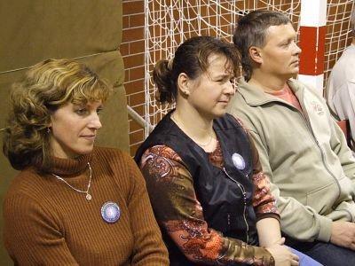 Goście z Czech: Ivana Jezkova, Pavlina Perglova, Petr Kopriva