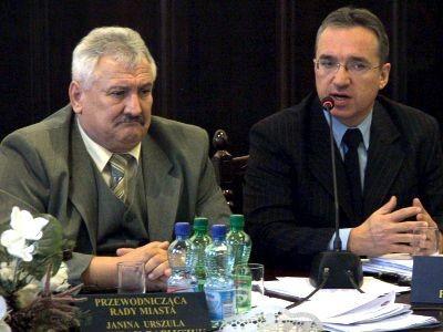 Od lewej: Józef Pokładek i Piotr Roman