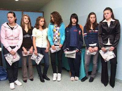 Nagrodzone zawodniczki MKS Boleslavia