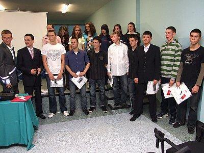 Nagrodzeni zawodnicy i zawodniczki MKS Boleslavia