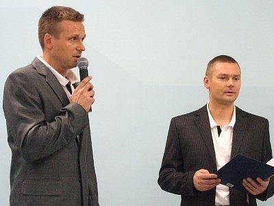 Bartosz Gruman i Tomasz Markowski